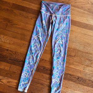 Teeki floral tribal leggings - recycled plastic